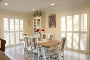 "White 2.5"" wood shutters"