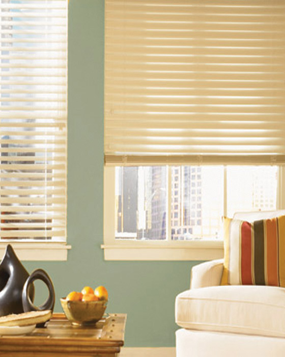 Bali 174 Essential 2 Quot Privacy Faux Wood Blinds Fauxwood Or
