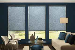 Roller Shades with design