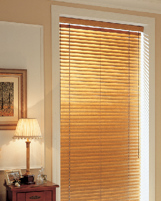 "BlindsOnTime 1"" Designer Basswood Blinds"