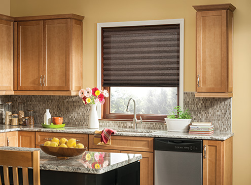 "Bali® Pleated Shades 2"" Room Darkening"