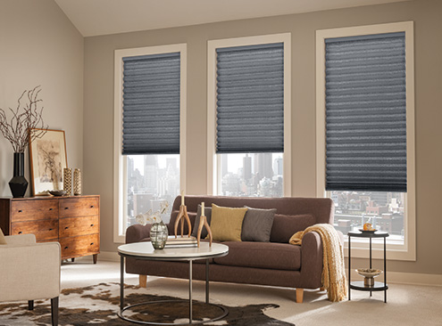 "Bali® Pleated Shades 1"" Room Darkening"