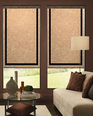 BlindsOnTime RollerShade Color Creation Basic Light Filtering
