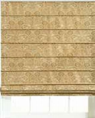 BlindsOnTime Roman Shade Plain (Front Slat)