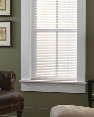 "Bali® Essential 1"" Light Blocker Vinyl Mini Blinds"