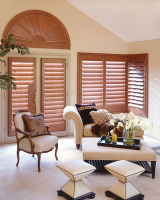 BlindsOnTime Normandy Wood Shutters