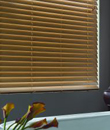"BlindsOnTime 2"" Designer Faux Wood Blinds"