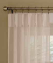 PhaseII Drapery Sheer Pleated Panels