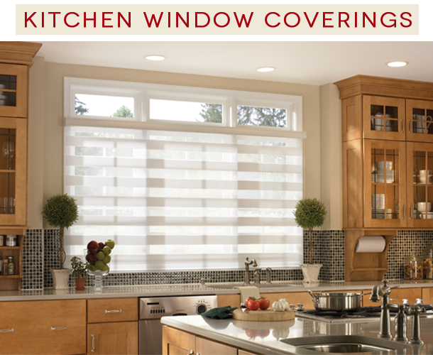 Merveilleux Kitchen Window Covering Ideas