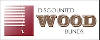 Discounted wood blinds